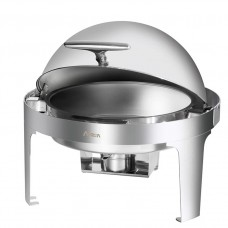 Economic Round Roll Top Chafing Dish