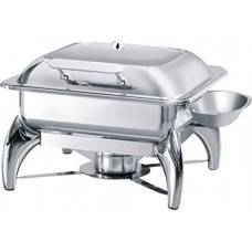 G-N 2/3 Induction Chafing Dish Glass Lid