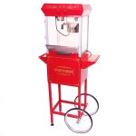 4oz & 8oz Popcorn Maker With Cart